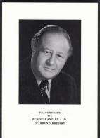 Orig. Parte - Trauerfeier F. Bundeskanzler Dr. Bruno Kreisky - Alte Papiere