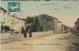 Aude : Alzonne, Route Nationale, Avenue De Toulouse - France