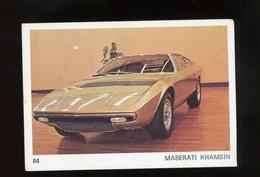 IMAGE (AMERICANA MUNICH) - MASERATI KHAMSIN - (CARTON 5X7,5 CM) - Otros