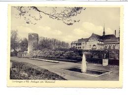 4150 KREFELD - UERDINGEN, Anlagen Am Ehrenmal1955 - Krefeld