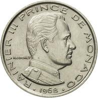 Monnaie, Monaco, Rainier III, Franc, 1968, SUP, Nickel, KM:140, Gadoury:MC 150 - Monaco