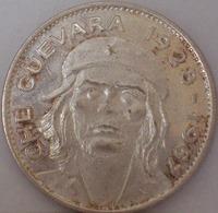 CUBA - Moneta Commemorativa CHE QUEVARA 1928/1967 - Argento/Silver - Cuba