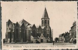 Middelkerke L Eglise Et Chaussee De Nieuport - Middelkerke