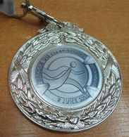 AC - BALKAN U18 ATHLETICS CHAMPIONSHIP 09 JUNE 2018 ISTANBUL, TURKEY SILVER MEDAL - MEDALLION - Athletics