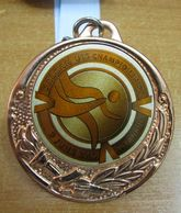 AC - BALKAN U18 ATHLETICS CHAMPIONSHIP 09 JUNE 2018 ISTANBUL, TURKEY BRONZE MEDAL - MEDALLION - Athletics