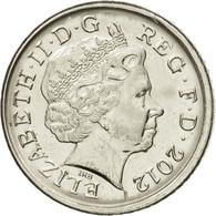 Monnaie, Grande-Bretagne, Elizabeth II, 5 Pence, 2012, British Royal Mint, TTB+ - 1971-… : Monnaies Décimales