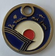 Jeton De Caddie - MARINE NATIONALE - La Marine Moi J'aime - En Métal - - Jetons De Caddies