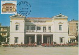Grèce Carte Maximum 1988 Villes Grecques 1684 - Maximum Cards & Covers