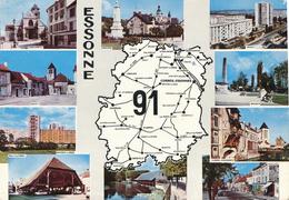 91) Carte Géographique - Département - ESSONNE (91) - Maps