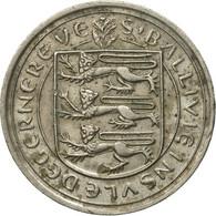 Monnaie, Guernsey, Elizabeth II, 10 Pence, 1977, Heaton, TB, Copper-nickel - Guernesey