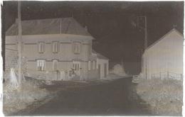 Dépt 80 - SAUVILLERS-MONGIVAL - PLAQUE De VERRE (négatif Photo Noir & Blanc, Cliché R. Lelong) - Rue D'Aubvillers - France