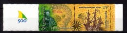 2000 Argentina - 500 Years Of Brazil Discovery By Pero Vaz De Caminha- Pair W Coupon MNH** MiNr. 2569 - 2570 (kk) Ship - Argentinien