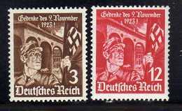 Deutsches Reich, 1935, Mi 598-599 ** [250818LAII] - Allemagne