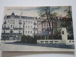 OPPEL - Partie Am Bahnhof Mit Bismarck-Denkmal Und Zimmer-Stasse - Pologne