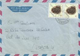 Angola 1972 Cabinda Fossil Neuropteridium Validum Cover - Angola