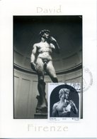 2014 ITALY. Maximum Card David Of Michelangelo, Sculpture. David De Miguel Ángel. Escultura. Art - Sculpture
