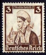 Deutsches Reich, 1935, Mi 588 * Nothilfe-Volkstrachten [250818LAII] - Unused Stamps