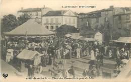 63 , AUBIERE , Place Des Ramacles Un Jour De Fete , Manege Forain , * 371 97 - Aubiere