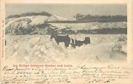 D-18-1642 : ICE BRIDGE BETWEEN QUEBEC AND LEVIS. - Levis