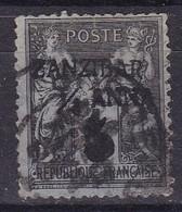 Zanzibar, Yvert N° 12 Oblitéré, Faux - Zanzibar (1894-1904)