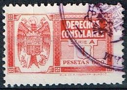 DERECHOS CONSULARES, 1940, 1 PTA, SERIE A - Fiscales
