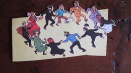 TINTIN DECOUPE CARTONNETTE   HERGE - Tintin