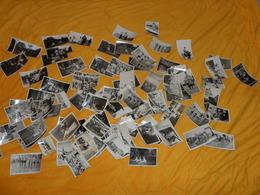 LOT DE 92 PHOTOS ANCIENNES DIVERSES DES ANNEES 1930..LA PLUPART./ VACANCES, PLAGE, VILLE ?. DEFILE, BATEAU... - Photos
