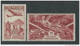 Madagascar P.A.  N° 62 + 65 X  Les 2  Valeurs Trace De  Charnière Sinon TB - Madagascar (1889-1960)