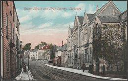 Stuart House And Free Library, Liskeard, Cornwall, C.1905-10 - Argall's Postcard - England