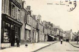53 ERNÉE - Place Mazarin - Animée - Ernee