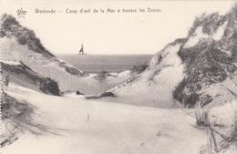 WESTENDE - COUP D'OEIL DE LA MER A TRAVERS LES DUNES - Westende