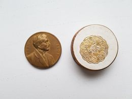 """Médaille """"Jean Jadot - Gouverneur De La Société Générale De Belgique 1906-1932"""" - Professionali / Di Società"""