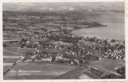 MORGES ET LAUSANNE - Vue Aerienne, Gel.195?, 25 C Marke - Schweiz
