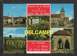 DF / 52 HAUTE MARNE / POUILLY ET LE CHÂTELET SUR MEUSE / SOURCE DE LA MEUSE ET DIVERS ASPECTS - Autres Communes