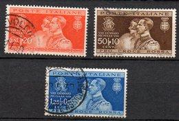 1930 Regno Nozze Del Principe Umberto N. 269 - 371 Serie Completa   Used - 1900-44 Victor Emmanuel III