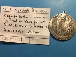 VIII ème OLYMPIADE PARIS 1924 - PORTRAIT DE ZEUS - France