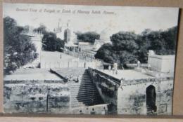 MONDOSORPRESA INDIA, GENERAL VIEW OF DURGAH OR TOMB OF KHAVAJA SAHIB, AIMERE PRIMI 900 NON VIAGGIATA, ANIMATA - India