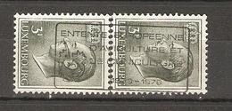 Luxembourg 1978 - Flamme Entente Européenne D'Aviculture Et De Cuniculture Sur 2 X 665 - Grand Duc Jean, 3 F - Marcophilie - EMA (Empreintes Machines)
