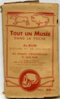 """24 LES EYZIES - Album D'Étude Et De Souvenir - 18 Cartes Recto-verso """"Tout Un Musée Dans La Poche"""" Voir 8 Scans - France"""