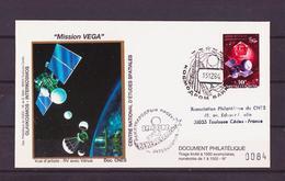 ESPACE - Comète De Halley - 1984/12 - Comète De Halley - Mission VEGA - CNES - 6 Documents - Asia