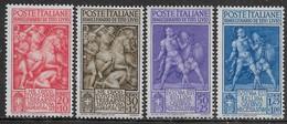 Italia Italy 1941 Regno Tito Livio Sa N.458-461 Completa Nuova MH * - Nuovi