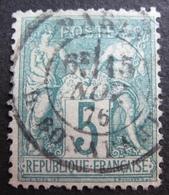 R1631/2139 - SAGE TYPE I N°64 - CàD De PARIS Rue BONAPARTE Du 15 NOVEMBRE 1876 - Cote : 60,00 € - 1876-1878 Sage (Type I)