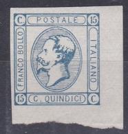 Italie 1863 - N°11** - émis Sans Gomme - Bord De Feuille Luxe - 1861-78 Victor Emmanuel II.
