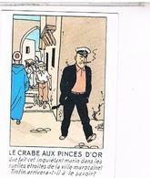 CPM   HERGE  AVENTURES DE TINTIN    LE CRABE AUX PINCES D OR    N°38                                       CE326 - Hergé