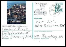 84670) BRD - P 129 - G7/102 - OO Gestempelt - 8390 Oassau, Teilansicht, Kirche - [7] West-Duitsland