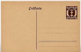 DANZIG  P 10 A  Postkarte  ** 1921  Kat. 6,50 € - Danzig