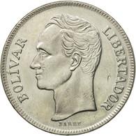 Monnaie, Venezuela, 5 Bolivares, 1977, TTB+, Nickel, KM:53.1 - Venezuela