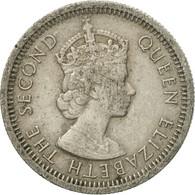 Monnaie, Etats Des Caraibes Orientales, Elizabeth II, 10 Cents, 1955, TB+ - Caraïbes Orientales (Etats Des)