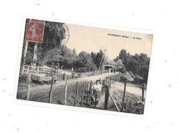 61 - COURGEOUT : La Gare, Thème Chemin De Fer, Train, - France