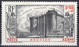 Reunion  - 1939 -  Anniversaire De La Révolution  - PA 6  - Neuf * - MLH - Poste Aérienne